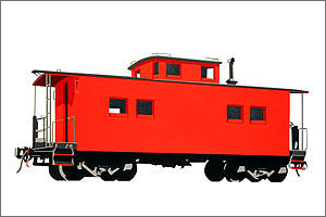 William Steiger: Caboose