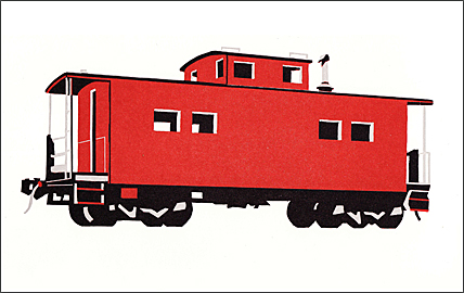 William Steiger : Caboose