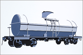 William Steiger : Tanker Car