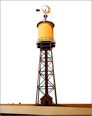William Steiger : Watertower 87 ft